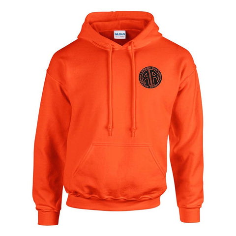 Ripride Skateshop OG logo Hooded Sweatshirt Orange
