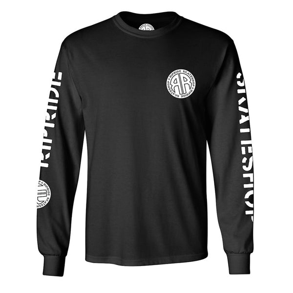 Ripride Skateshop OG Logo Long Sleeve T-Shirt Black