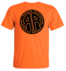 Ripride Skateshop OG Logo T-Shirt Prison Issue Orange