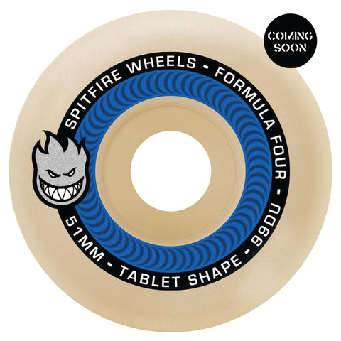 Spitfire Formula Four Tablet 52mm