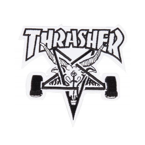 Thrasher SK8 Goat Patch White/Black