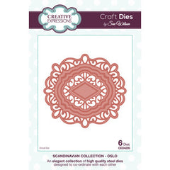 Craft Dies by Sue Wilson - Scandinavian Collection