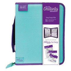 Docrafts A5 Creativity Essentials Stamp Storage Folder & Stamp Pockets