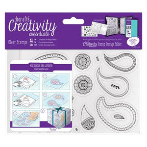 Docrafts Clear Stamp A6  Mix, Match and Layer up.