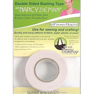 Clover Double Sided Basting Tape 12 mm x 7 m
