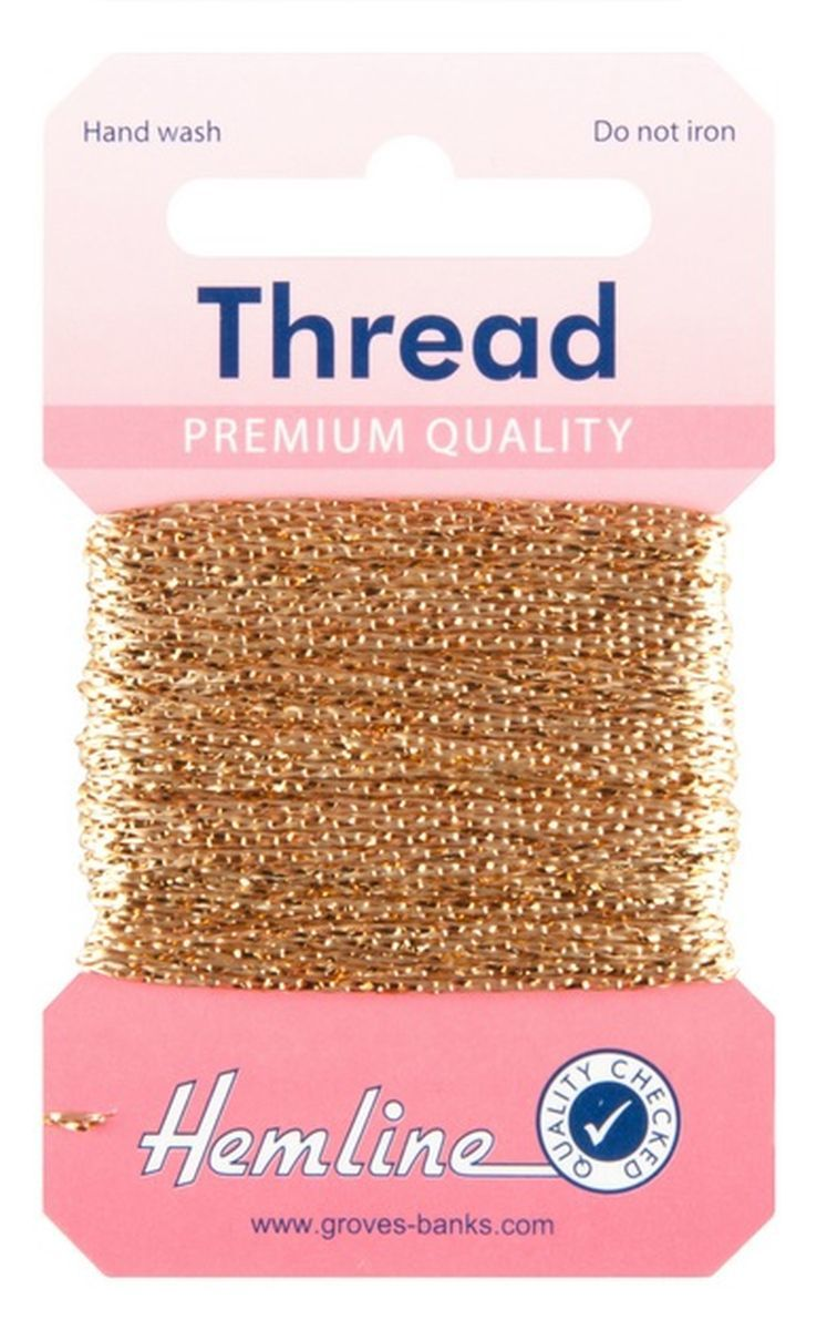 Glitter Metallic Thread 10m