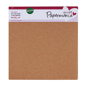 Card & Envelopes 8 x 8 ins 6pk