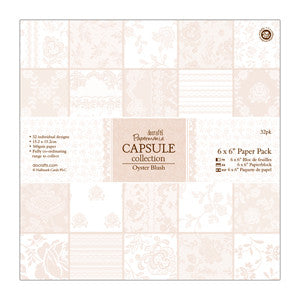 Paper Pack 6 x 6 in-Capsule Collection Oyster Blush