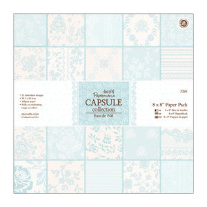 Paper Pack 8 x 8 in-Capsule Collection Eau De Nil