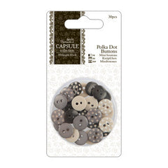 Buttons-Polka Dot- Capsule Collection