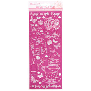Henbury Lane Collection, Outline Linen Sticker