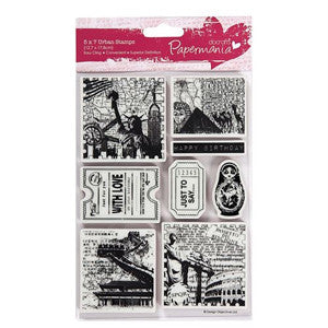 Urban Stamps 5 x 7 ins