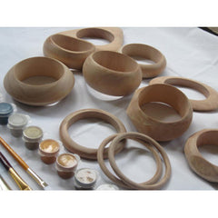Unfinished Wooden Bangle