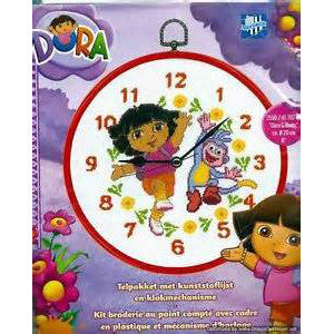 Dora the Explorer Cross stitch kits