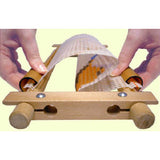 Wooden Easy Clip Hand rotating Frame