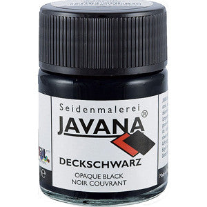 Javana Opaque Black 50ml Jar