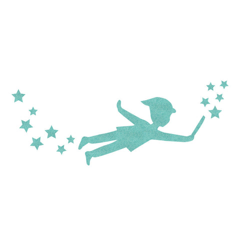 Wandtattoo Peter Pan  <br><small> (Tapete, 30*80cm)</small>