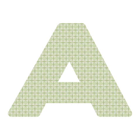 "Wandtattoo-ABC, Buchstabe ""A"" <br><small>(Tapete, 36*46cm)</small>"