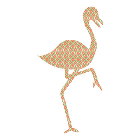 Wandtattoo Flamingo Alfie <br><small> (Tapete, 100*54cm)</small>