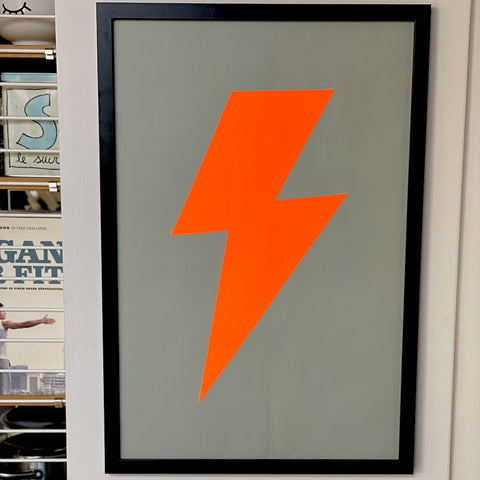 FLASH NEON ORANGE, 60*40