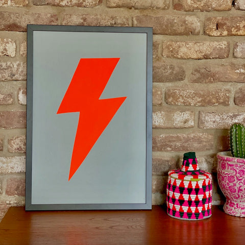 FLASH NEON RED, 60*40