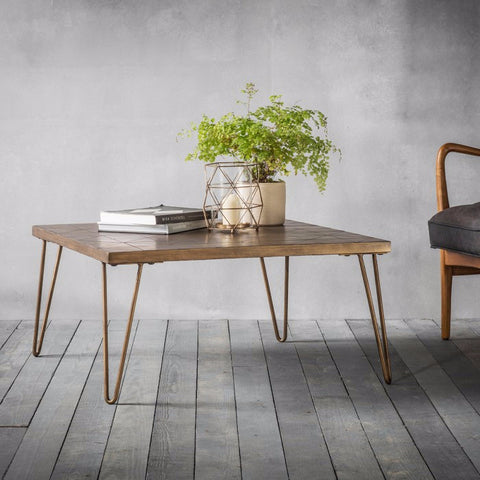 Pompeii Metallic Coffee Table by Hudson Living