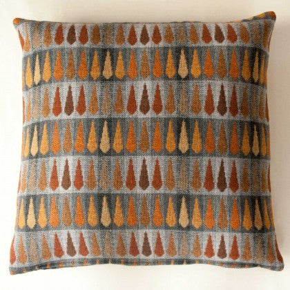 Fern Cushion in Copper by Chalk Wovens