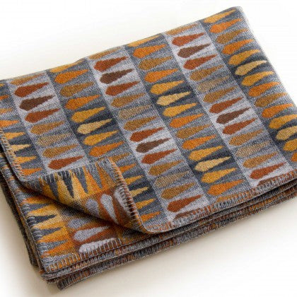 Fern Throw in Copper by Chalk Wovens