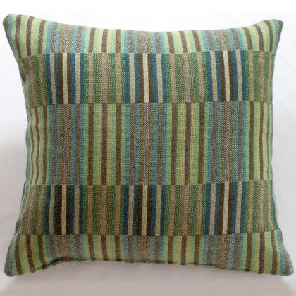 Reed Cushion in Jade by Chalk Wovens