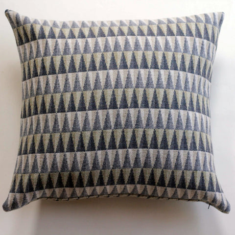 Prism Cushion in Grey by Chalk Wovens