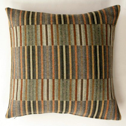 Reed Cushion in Copper by Chalk Wovens