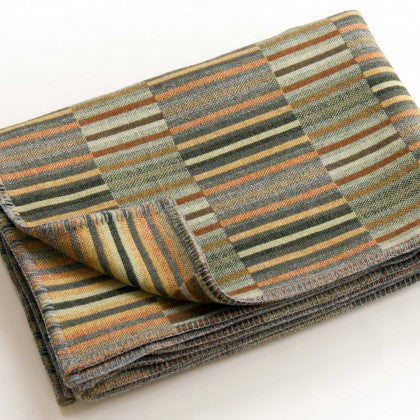 Reed Throw in Copper by Chalk Wovens