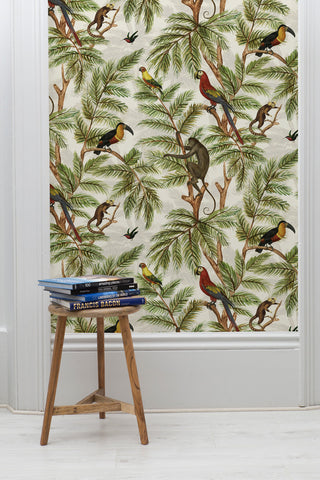 Jungle Print Wallpaper by Miki Rose