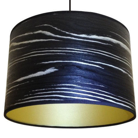 Black and White Drum Lampshade by Storm Furniture