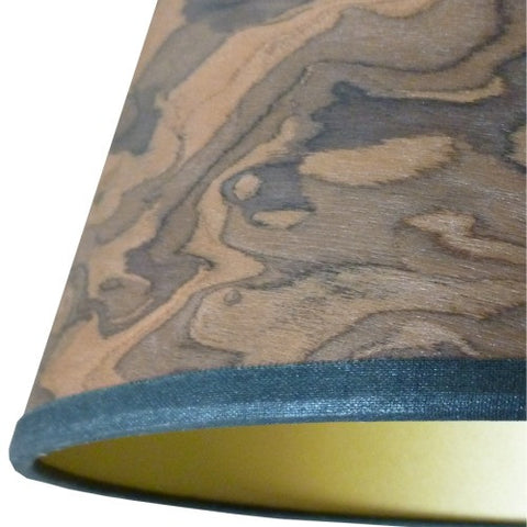 Dark Burl Veneer Bar Pendant by Storm Furniture