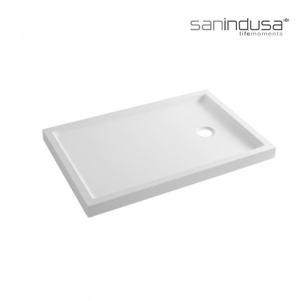Base de Duche PIANO 120x80x7,5 802430 - SANINDUSA