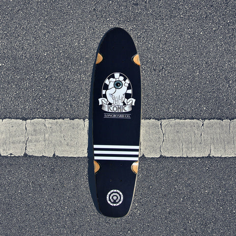 Control Your Vision Shortboard Deck Midnight Edition