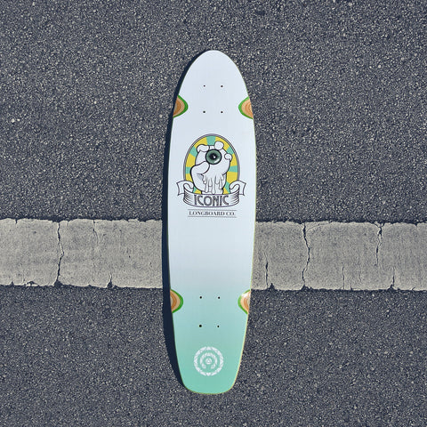 Control Your Vision Shortboard Deck Lemon Lime