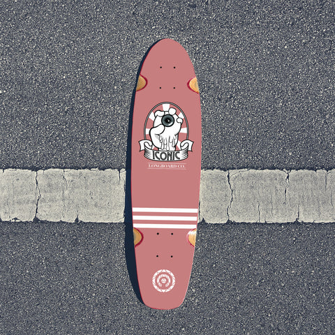 Control Your Vision Shortboard Deck Guayaba Edition