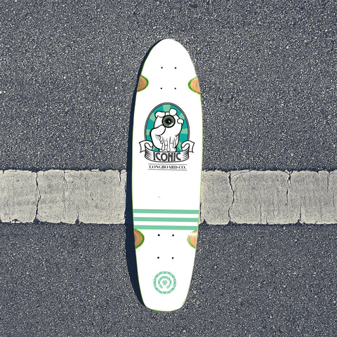Control Your Vision Shortboard Deck Cucumber