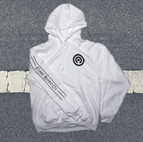 Simple Iconic Hoodie White