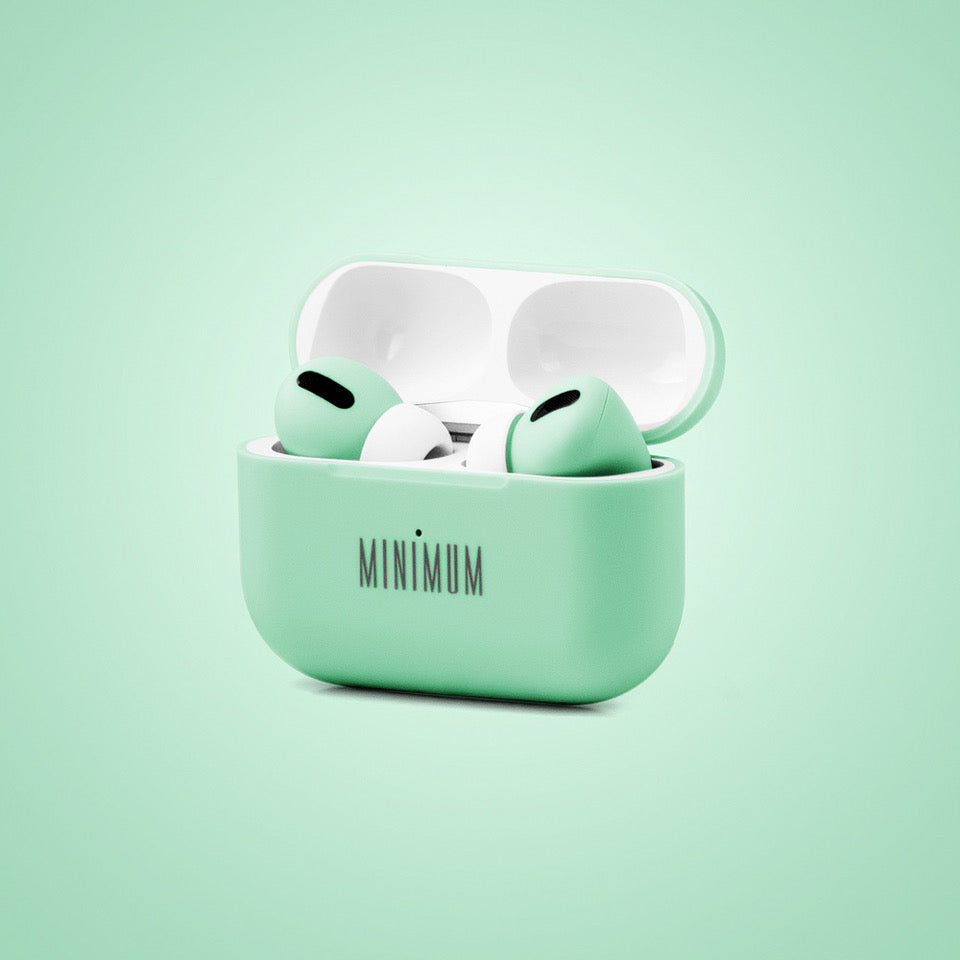MINIMUM Mint Audio MPods Pro earbuds in case