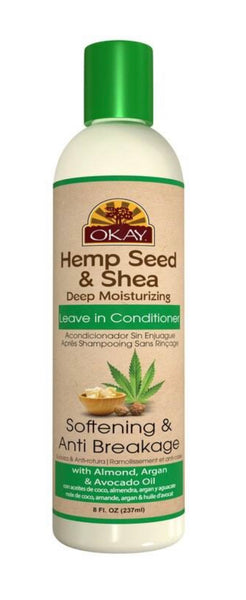 Okay Hemp see and Shea shampoo