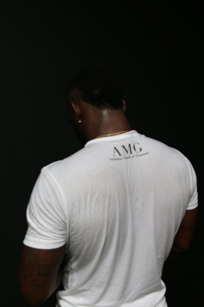 "AMG ""Stay True."" Logo Tee"