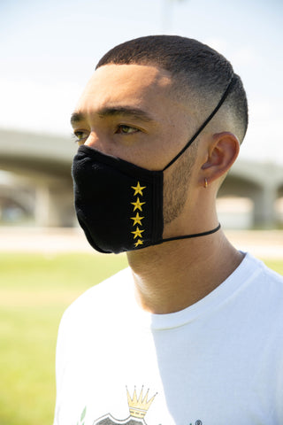 "AMG ""5-Star"" Face Mask"