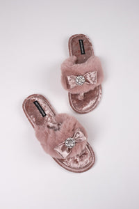Amelie in Pink Diamonds Slippers