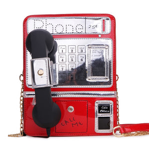 Retro Phonin' Novelty Handbag