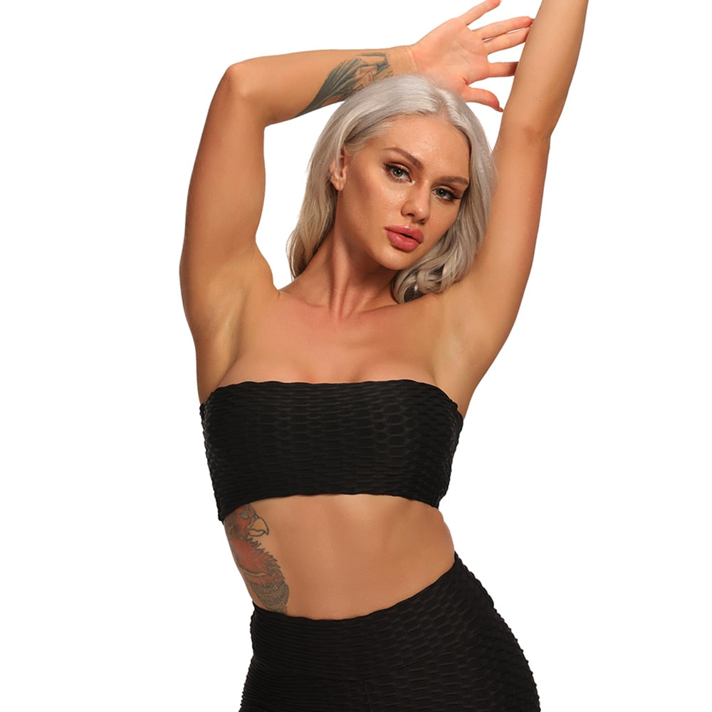 Poppin' Seamless Tube Top