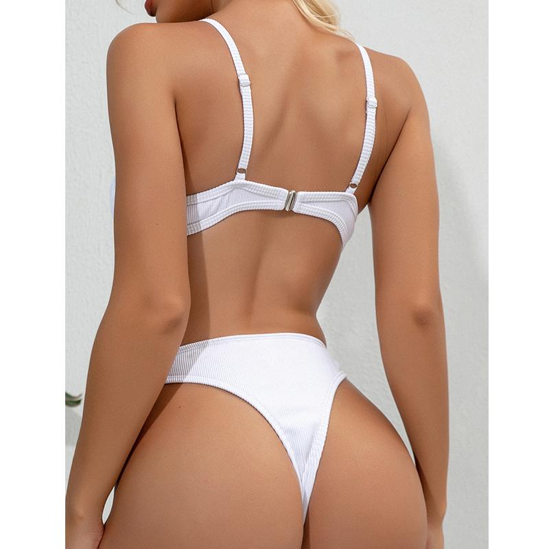 Underwire Swimsuit  Sexy Push Up Bikini