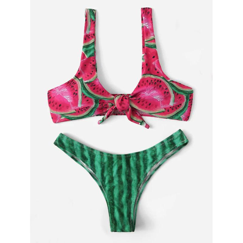 watermelon novelty bikini miami beach vacation